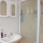 The newly added en-suite shower and WC